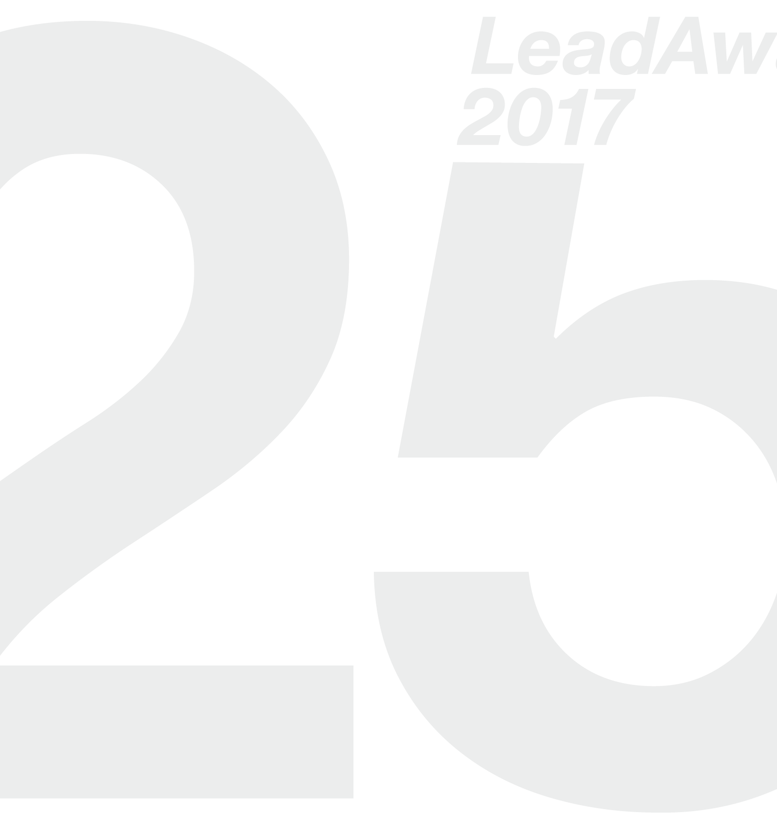 25 Jahre LeadAwards